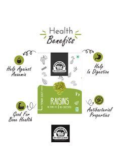 Plain Raisins Kishmish 250 grams