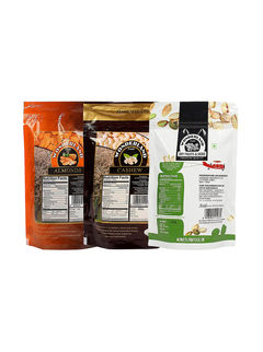 California Almonds 200gm, Raw Cashews 200gm & Roasted Salted Pistachios 200gm