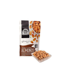 Roasted & Salted Almonds 1kg (200gm x 5)