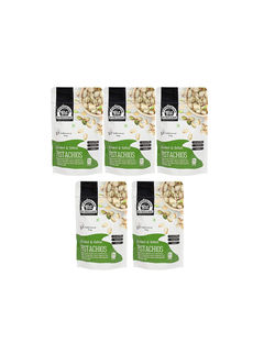 Roasted & Salted Pistachios 1kg (200gm x 5)