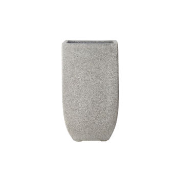 Square Grey Contemporary Planter