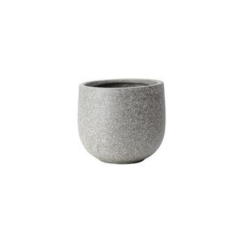 Small Round Grey Classic Planter