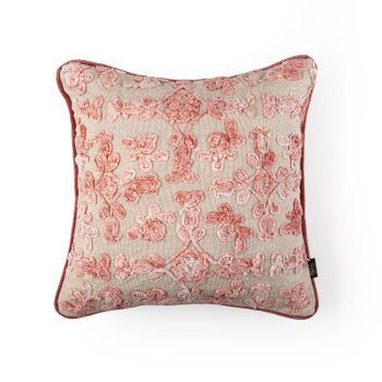 Pink Amer Cushion Cover