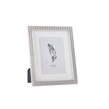 Amira Silver Plated Photo Frame