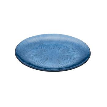 Single Blue Dinner Plate