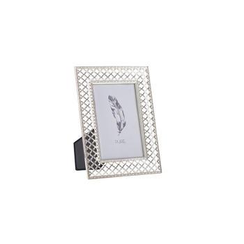 Small Lattice Silver Tabletop Frame