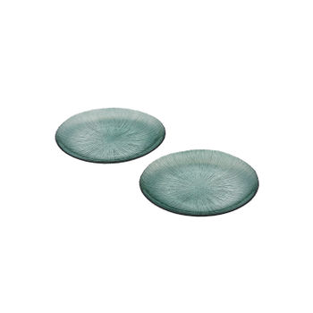 Set of 2 Green Side  Plate