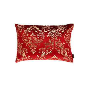 Traditional Foil Printed Cushion Cover