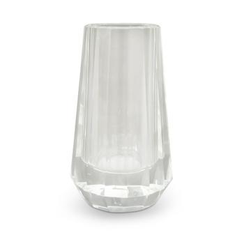 Elegant small crystal vase