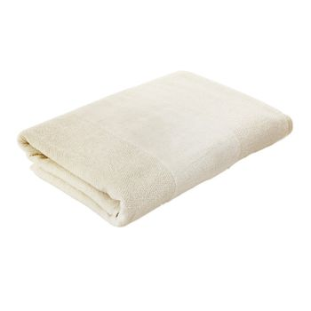 Ivory Combed Cotton Bath Towel