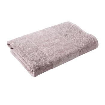 Cloud Grey Combed Cotton Bath Towel