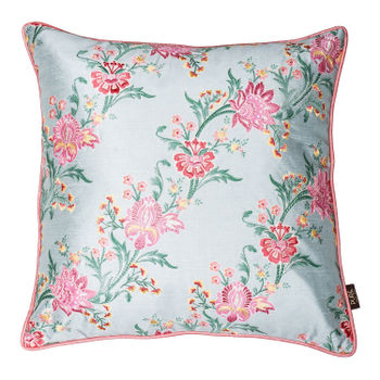 Spring Flower Printed Cushion Cover