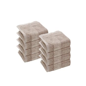 Set of 8: Linen Face Towels