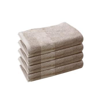 Set of 4: Linen Hand Towels