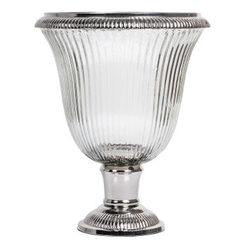 Medium-Clear-Glass-Angel-Silver-Hurricane-
