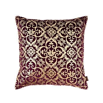 Purple Printed Islamic Art Cushion Cover