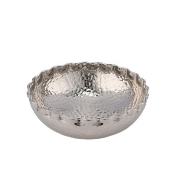 Small Hammered Decorative Bowl