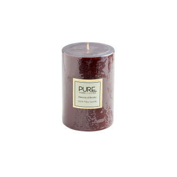 Large Brown Moments of Eternity Pillar Candle
