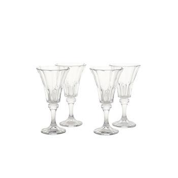 Set of 4: Clear Wellington White Wine Glass