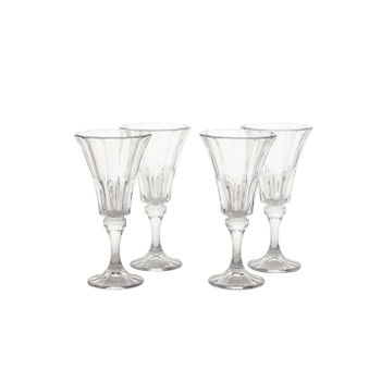 Set of 4: Clear Wellington Red Wine Glass