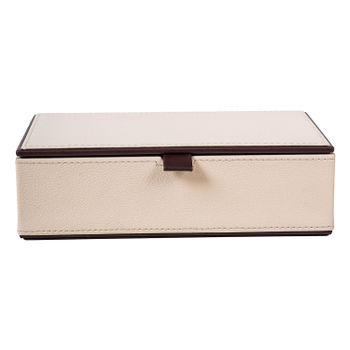 Rectangular Cream Brown Box