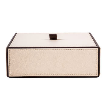 Everyday Square Cream Brown Box