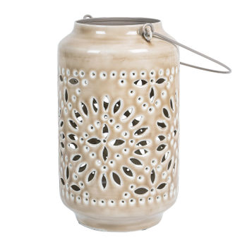 Beige Classic Lantern
