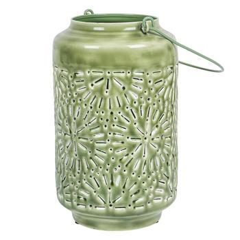 Green Bohemian Lantern
