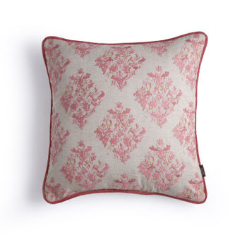 Pink Chintz Cushion Cover