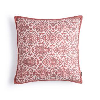 Pink Marigold Cushion cover