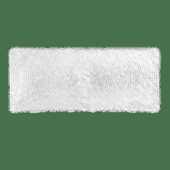 Large Textured Diamante Appetizer Platter