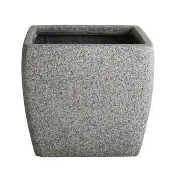 Square Grey Planter
