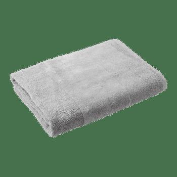 Light Blue Combed Cotton Bath Towel