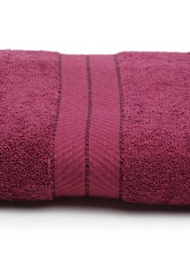 Stellar Home Crystal Collection - Prune Colour Hand Towel, GSM - 380 (100% Cotton, 40 x 60 cms)