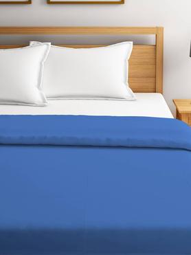 Blockbuster Blue Shadow Polar Fleece Blanket Double Size