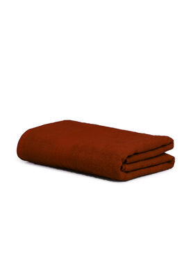 Stellar Home Crystal Collection - Small Nutmeg Brown 1 Piece Bath Towel, GSM - 380 (100% Cotton, 70 x 140 cms)