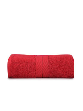 Stellar Home Crystal Collection - Bright Red 1 Piece Hand Towel, GSM - 380 (100% Cotton, 40 x 60 cms)