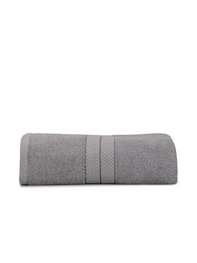 Stellar Home Crystal XI Collection - Extra Large Smokey Grey 1 Piece Bath Towel, GSM - 380 (100% Cotton, 90 x 180 cms)