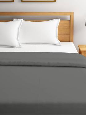 Blockbuster Steel Gray Polar Fleece Blanket Double Size