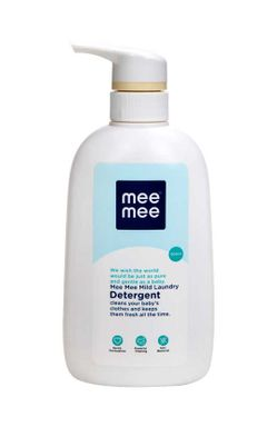 Mee Mee Mild Baby Liquid Laundry Detergent Bottle and Anti-Bacterial Baby Liquid Cleanser (500 ml)