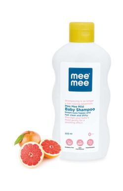 Mee Mee Mild Baby Shampoo with Fruit Extracts & Fresh Feel Baby Powder (500 ml/g)