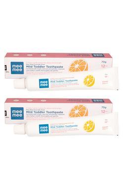 Mee Mee Fluoride-Free Orange Flavor Toothpaste, 70g