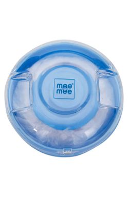 Mee Mee Premium Powder Puff with Powder Storage (Blue)