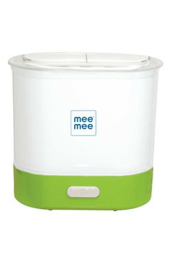 Mee Mee Advanced 3 in 1 Steam Sterilizer and Warmer (Upto 6 Bottles & Accessories)