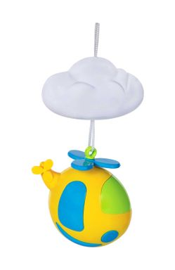 Mee Mee 4 Toy Flying Musical Animal Cot Mobile, Multicolor