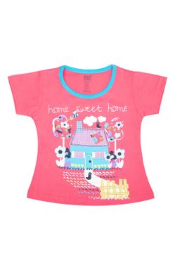 Mee Mee Short Sleeve Girls Night Suit
