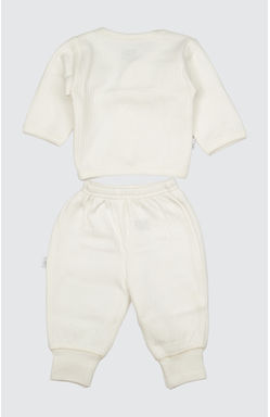 Mee Mee Full Sleeve Thermal Vest With Full Length Bottom