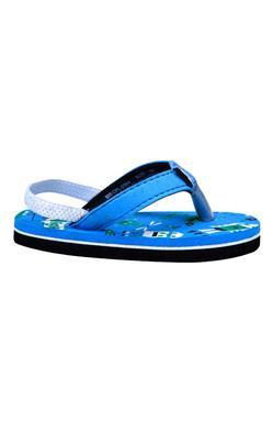 Mee Mee Unisex Flip-Flops and House Slippers_x000D_ (Black - Blue)