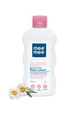 Mee Mee Soft Baby Lotion & Fresh Feel Baby Powder (500 ml)