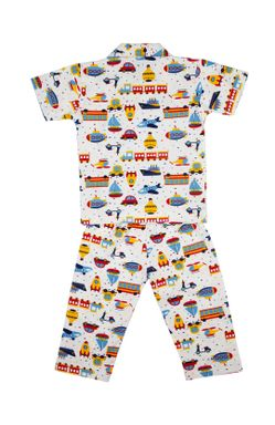 Mee Mee Short Sleeve Boys Night Suit